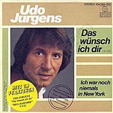 Udo Jürgens Ich War Noch Niemals In New York