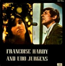 Francoise Hardy and Udo Jürgens - LP Front-Cover