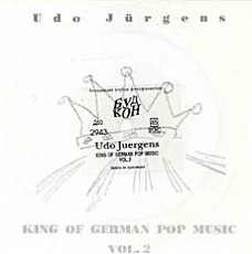 "Udo Jürgens - King of German Pop Music - Vinyl-Single (7"") Front-Cover"
