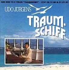 "Udo Jürgens - Traumschiff / Blue South - Vinyl-Single (7"") Front-Cover"