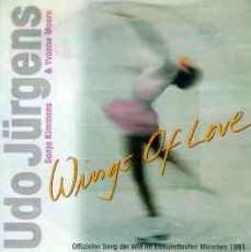 "Udo Jürgens, Sonja Kimmons, Yvonne Moore - Wings of Love / Daniel's Song - Vinyl-Single (7"") Front-Cover"