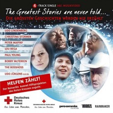 The Greatest Stories are never told... (Rotes Kreuz) - CD Front-Cover