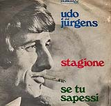 "Udo Jürgens - Stagione / Se tu sapessi - Vinyl-Single (7"") Back-Cover"