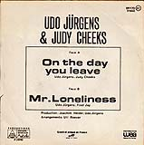 "Udo Jürgens - On the day you leave / Mr. Loneliness - Vinyl-Single (7"") Back-Cover"
