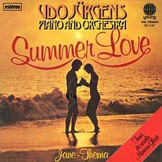"Udo Jürgens - Summer Love / Jane-Thema - Vinyl-Single (7"") Front-Cover"