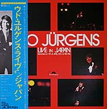 Udo Jürgens - Live in Japan - LP Front-Cover