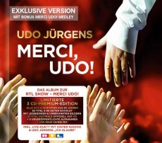 Udo Jürgens - Merci, Udo! (Weltbild Edition) - CD Front-Cover