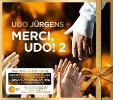 Udo Jürgens - Merci, Udo! 2 (Christmas Edition) - CD Front-Cover