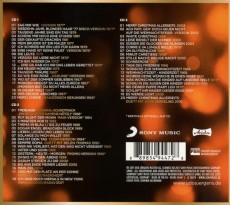 Udo Jürgens - Merci, Udo! 2 (Christmas Edition) - CD Back-Cover