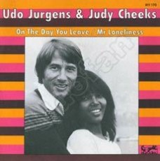 "Udo Jürgens - On the day you leave / Mr. Loneliness - Vinyl-Single (7"") Front-Cover"