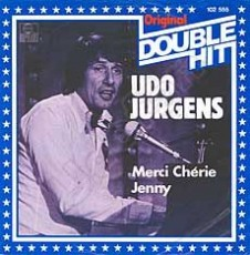 "Udo Jürgens - Merci Chérie / Jenny (Double Hit) - Vinyl-Single (7"") Front-Cover"
