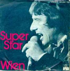"Udo Jürgens - Superstar / Wien - Vinyl-Single (7"") Front-Cover"