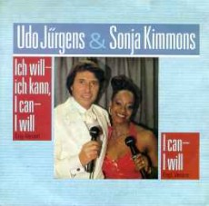 "Udo Jürgens - I can - I will / Ich will - ich kann, I can - I will - Vinyl-Single (7"") Front-Cover"
