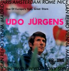 Udo Jürgens - Introducing - LP Front-Cover
