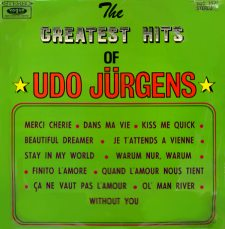 Udo Jürgens - The Greatest Hits Of Udo Jürgens - LP Front-Cover