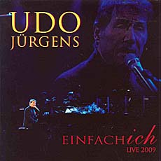 Udo Jürgens - Einfach ich -  Live 2009 - CD Front-Cover