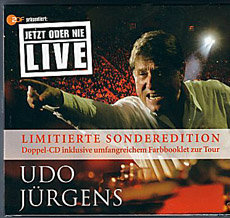 Udo Jürgens - Jetzt oder nie - Live 2006 - CD Front-Cover