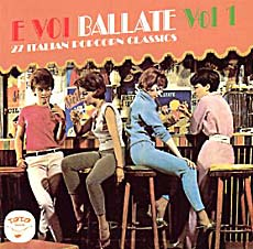 E Voi Ballate Vol. 1 - CD Front-Cover