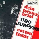 Dein letzter Brief / Cotton Fields - Front-Cover