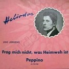 Peppino / Frag mich nie, was Heimweh ist - Front-Cover