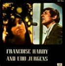 Francoise Hardy and Udo Jürgens - Front-Cover