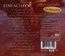 Udo Jürgens - Einfach ich (Gold Edition) - CD Back-Cover