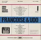 Francoise & Udo - LP Back-Cover