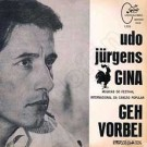 Gina / Geh' vorbei - Front-Cover