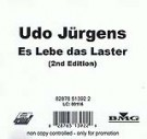 Es lebe das Laster 2nd Edition - Front-Cover