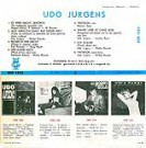"Udo Jürgens - Udo Jürgens - Vinyl-Single (10"") Back-Cover"