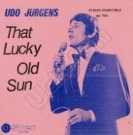 That lucky old sun / The shadow of your smile - Front-Cover