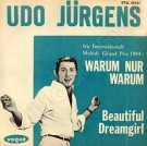 Warum nur, warum / Beautiful Dreamgirl - Front-Cover