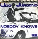 Nobody knows / Stay in my world - Front-Cover