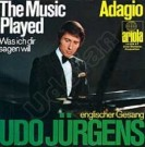 The music played / Adagio - Front-Cover