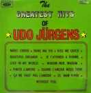 The Greatest Hits Of Udo Jürgens - Front-Cover