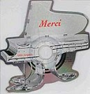 Merci Chérie (Shape) - Front-Cover