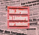 In Lüneburg war Volksfest - Front-Cover